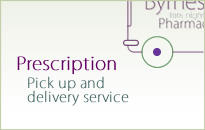 Prescription Pick up and delivery service